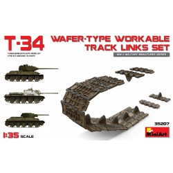 MINIART35207 T-34 Wafer Type Workable Track 1/35