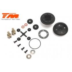 TM507209 Pièce détachée - E4RS II / E4RS III / E4RS4 - différentiel à pignons léger Set
