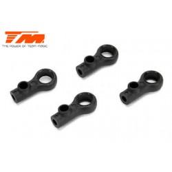 TM507218 Pièce détachée - E4RS II EVO / E4RS III / E4RS4 - Chapes de barre anti-roulis (4 pces)