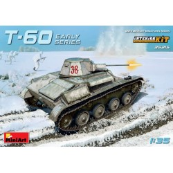 MINIART35215 T-60 Early Series (Gorky Auto.)1/35