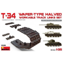 MINIART35216 T-34 Wafer-Type Halved Track 1/35