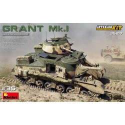 MINIART35217 Grant MkI Interior Set 1/35