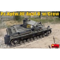 MINIART35221 Pz.Kpfw.3 Ausf.B w/Crew 1/35