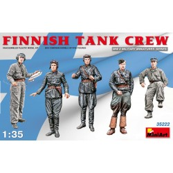 MINIART35222 Finnish Tank Crew 1/35