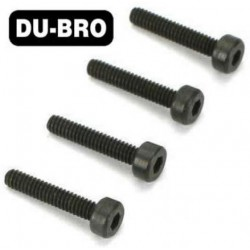 DUB2125 Screws - 3mm x 18 Socket Head Cap Screws (4 pcs per package)