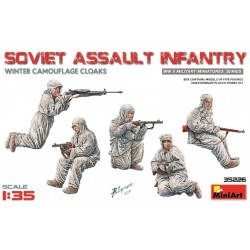 MINIART35226 Soviet Assault Infantry Winter 1/35