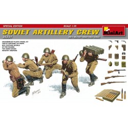 MINIART35231 Sov.Artillery Crew Special Ed. 1/35