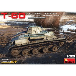 MINIART35232 T-60 Late Series Screened Int. 1/35