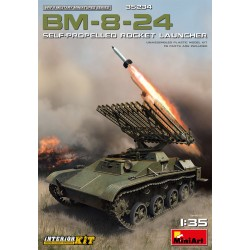MINIART35234 BM-8-24 SelfP. Rocket Launcher 1/35