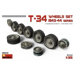 MINIART35242 T-34 Wheels Set. 1943-44 Serie 1/35
