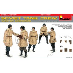 MINIART35244 Soviet Tank Crew Winter 1/35
