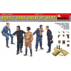 MINIART35246 Soviet Tank Crew at Rest Sp.Ed.1/35
