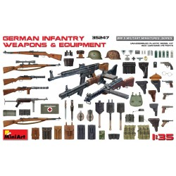 MINIART35247 Germ. Infantry Weapons & Equip.1/35