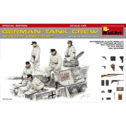 MINIART35249 German Tank Crew Winter 1/35
