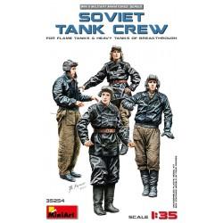 MINIART35254 Soviet Tank Crew (Flame & Heav)1/35