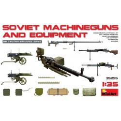 MINIART35255 Soviet Machine Guns & Equipment1/35