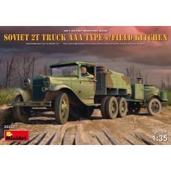 MINIART35257 Sov.2T Truck AAA & Fiel Kitch. 1/35