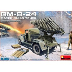 MINIART35259 BM-8-24 Based on 1,5t. Truck 1/35
