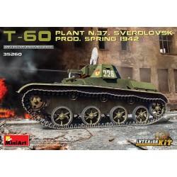MINIART35260 T-60 Plant N.37 Sverdlovsk '42 1/35