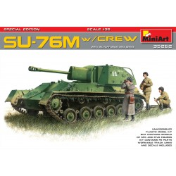 MINIART35262 SU76M with Crew Special Edit. 1/35