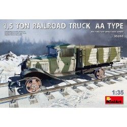 MINIART35265 1,5 Ton Railroad Truck AA Type 1/35
