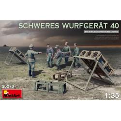MINIART35273 German SCHWERES WURFGERÄT 40 1/35