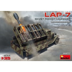 MINIART35277 Sovier Rocket Launcher LAP-7 1/35