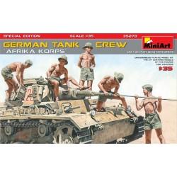 MINIART35278 Germ.Tank Crew (Afrika Korps) 1/35