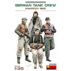 MINIART35280 German Tank Crew Kharkov '43 1/35
