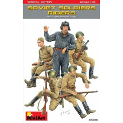 MINIART35281 Soviet Soldiers Riders Sp.Edit.1/35