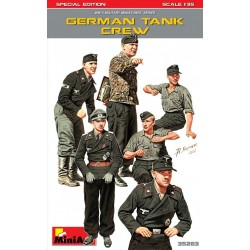 MINIART35283 German Tank Crew Spec.Edition 1/35