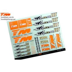 TM507342 Autocollants - E4RS III