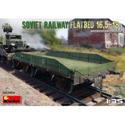 MINIART35303 Soviet Railway Flatbed 16,5t 1/35