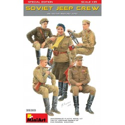 MINIART35313 Soviet Jeep Crew Special Edition 1/35