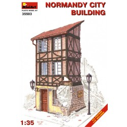 MINIART35503 Normandy City Building 1/35