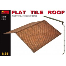 MINIART35518 Flat Tile Roof 1/35