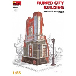 MINIART35519 Ruined City Building 1/35