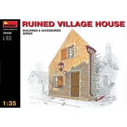MINIART35520 Ruined Village House 1/35