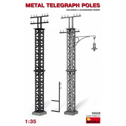 MINIART35529 Metal Telegraph Poles 1/35