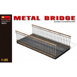 MINIART35531 Metal Bridge 1/35