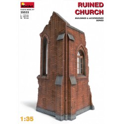 MINIART35533 Ruined Church 1/35