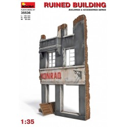 MINIART35536 Ruined Building 1/35