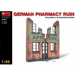 MINIART35537 German Pharmacy Ruin 1/35