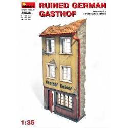MINIART35538 German Gasthof ruined 1/35