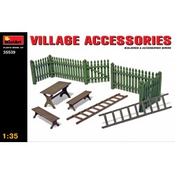 MINIART35539 Village Accessories 1/35