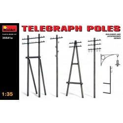 MINIART35541A Telegraph Poles 1/35