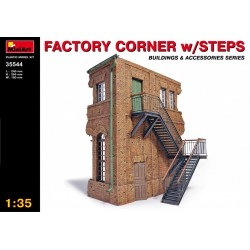MINIART35544 Factory Corner w/steps 1/35