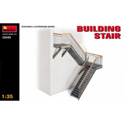 MINIART35545 Building Stair 1/35