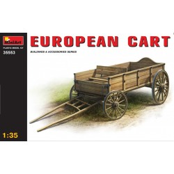 MINIART35553 European Cart 1/35