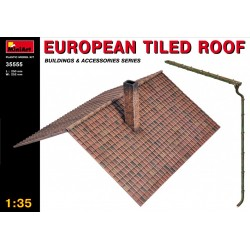 MINIART35555 European Tiles Roof 1/35